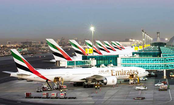 lapangan terbang dubai paling sibuk di dunia