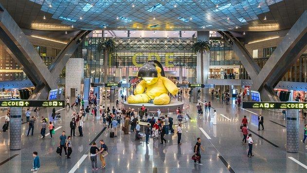 lapangan terbang hamad paling mewah