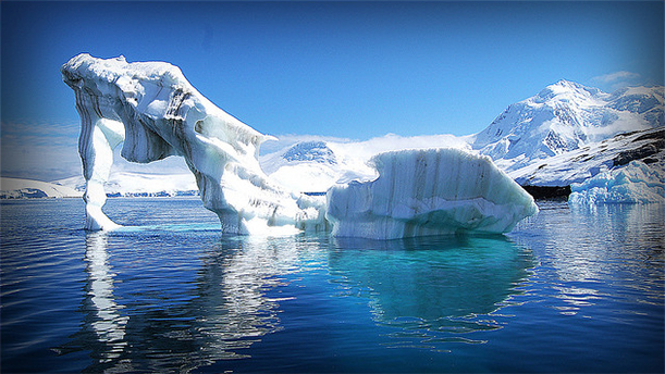 lapisan ais di antartika