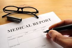 laporan kesihatan