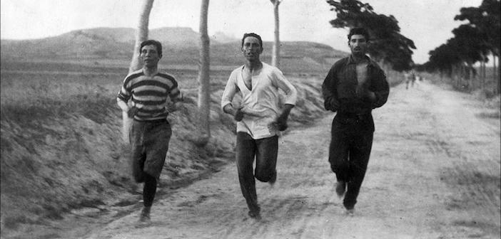 larian maraton pertama olimpik
