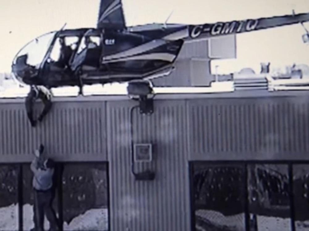 larikan diri dari penjara guna helikopter