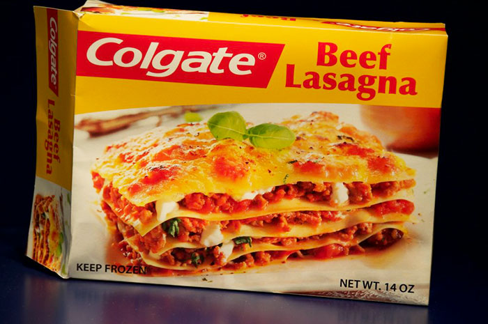 lasagna daging keluaran colgate