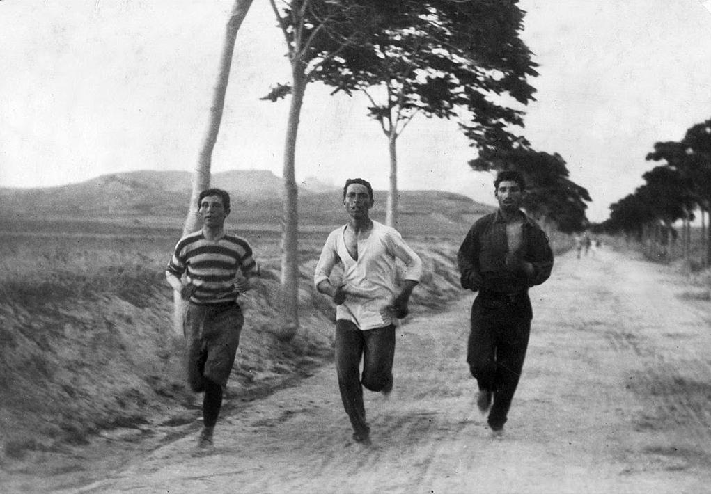 latihan acara marathon