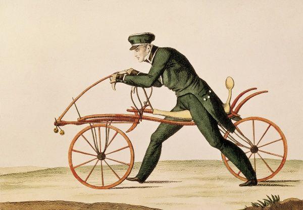 laufmaschine basikal pertama di dunia 2