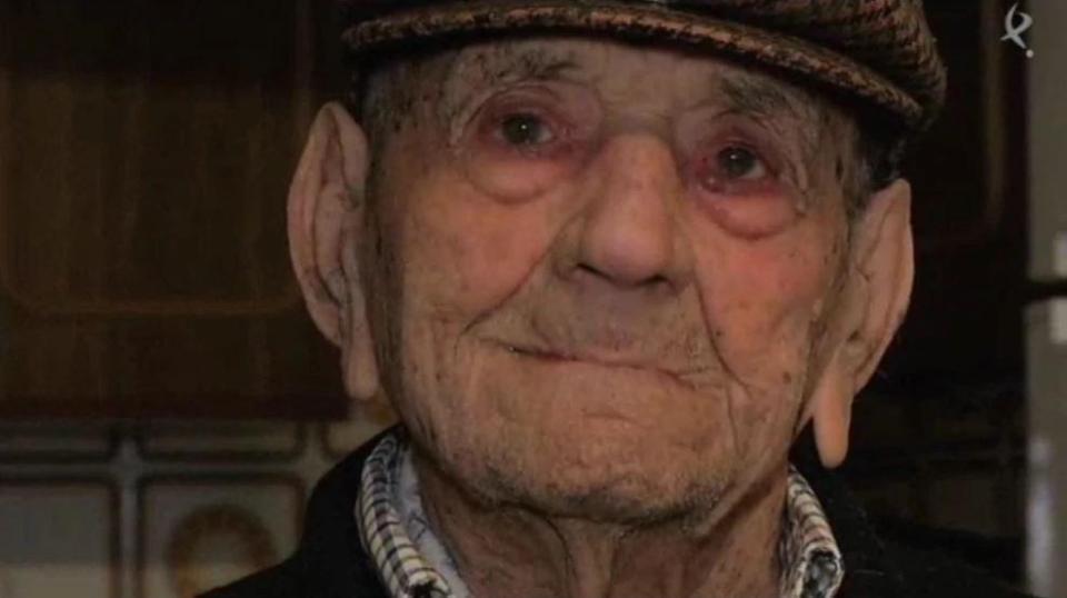 lelaki tertua di sepanyol nunez olivera meninggal dunia di usia 113 tahun