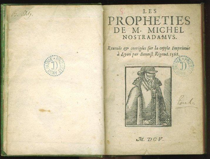 les propheties karya nostradamus propheties
