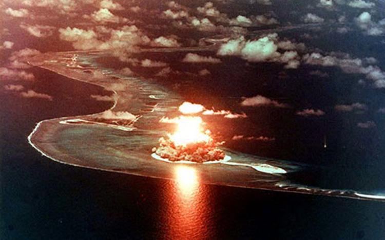 letupan bom nuklear