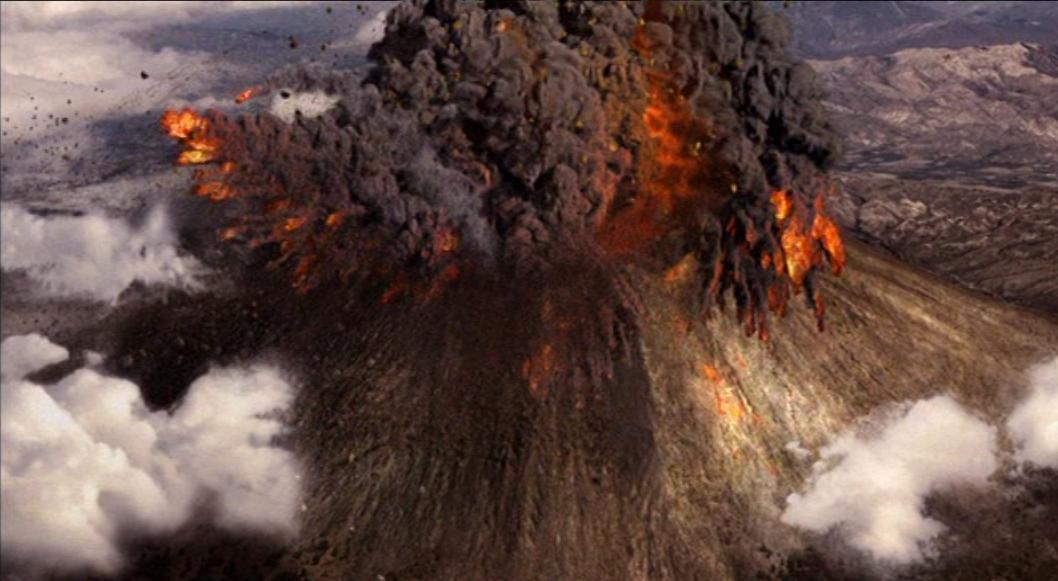 letusan dahsyat gunung vesuvius