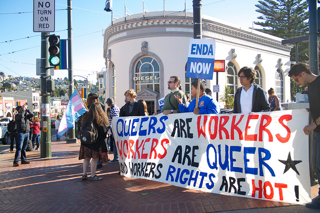 lgbt menuntut hak pekerjaan