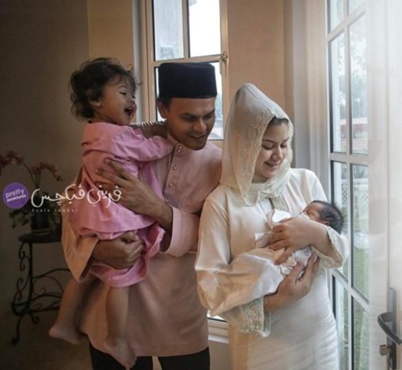 lisa surihani dan yusry umum nama bayi lelaki mereka