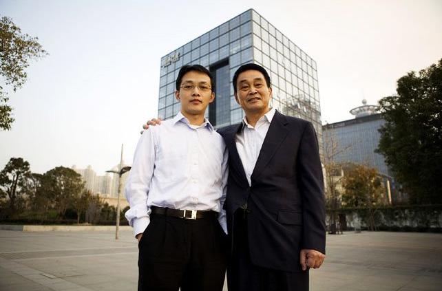liu yongxing dan anaknya shawn liu
