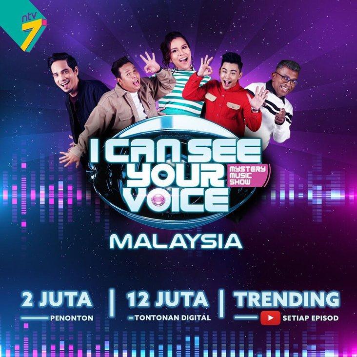 live streaming dan info rancangan i can see your voice malaysia minggu 5 2