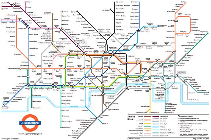 london underground sistem kereta api bawah tanah paling besar di dunia 2
