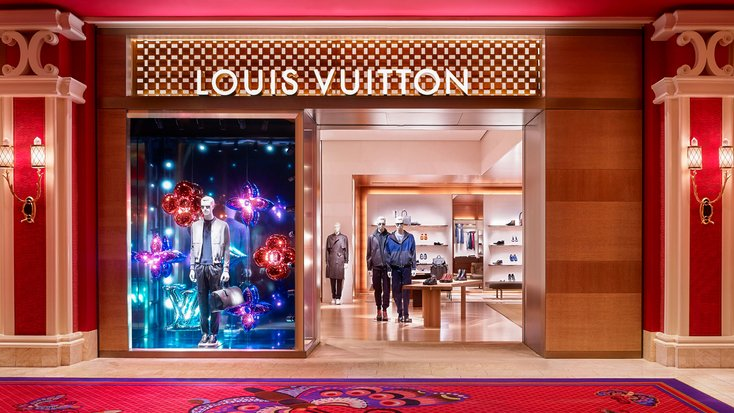 louis vuitton wynn plaza