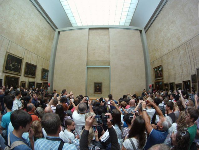 louvre reality