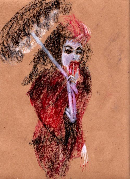 lukisan hantu janet