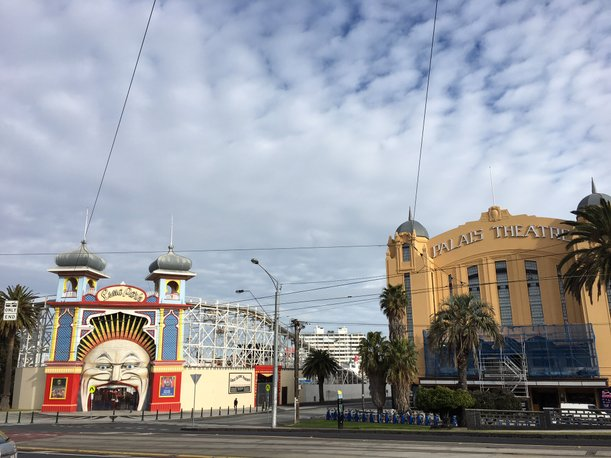 luna park and palas theatre itinerary melbourne