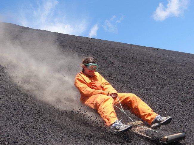 luncur gunung berapi