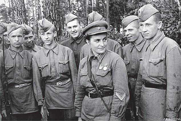 lyudmila semasa perang