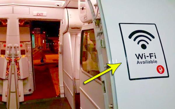 macam mana kapal terbang airasia boleh ada wifi