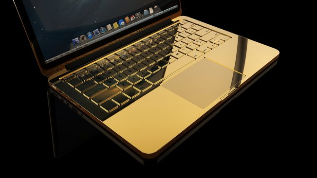 macbook pro 24 karat gold laptop paling mahal di dunia 3