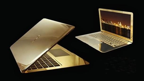 macbook pro 24 karat gold laptop paling mahal di dunia