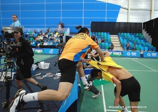 main badminton pun boleh gaduh