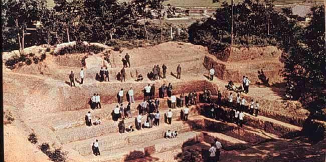 makam xin zhui yang digali pada tahun 1971