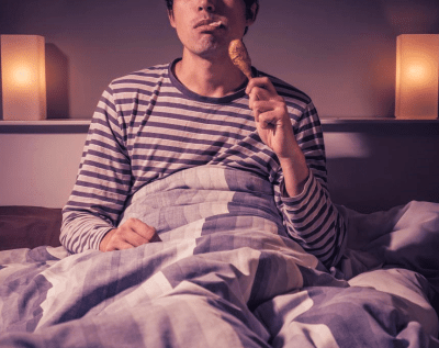 makan sebelum tidur