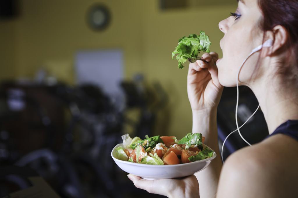makan selepas bersenam
