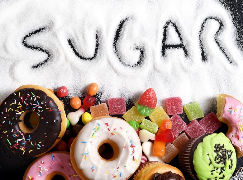 makanan dengan tinggi kandungan gula