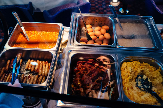 makanan di kutub selatan