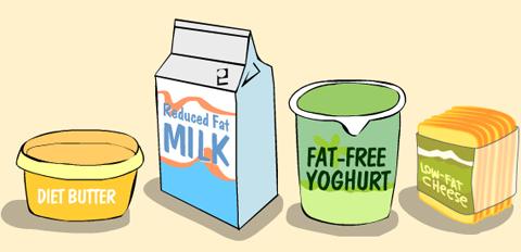 makanan rendah lemak tidak semestinya rendah kalori