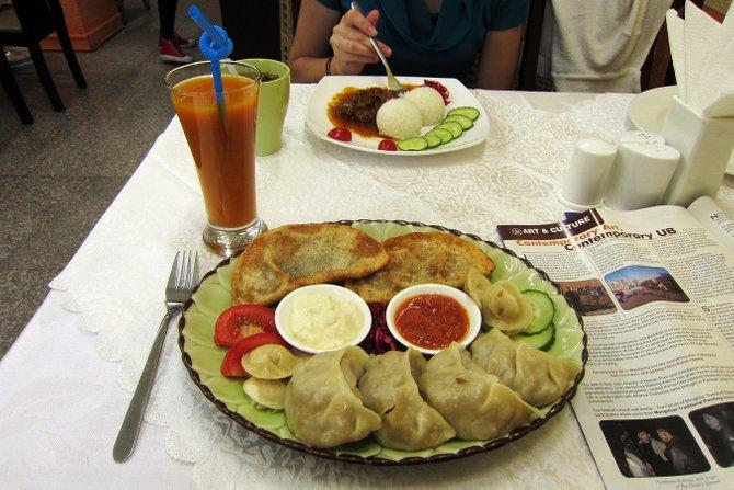 makanan vegetarian di ulaanbaatar
