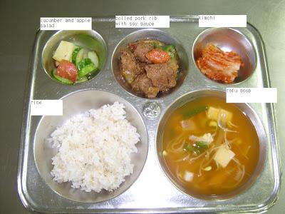 makanan waktu rehat pelajar sekolah di seluruh dunia korea selatan