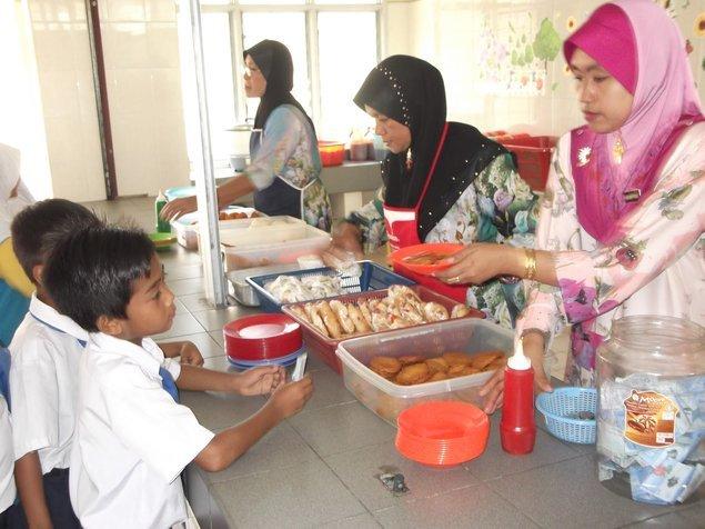 makanan waktu rehat pelajar sekolah di seluruh dunia malaysia 2