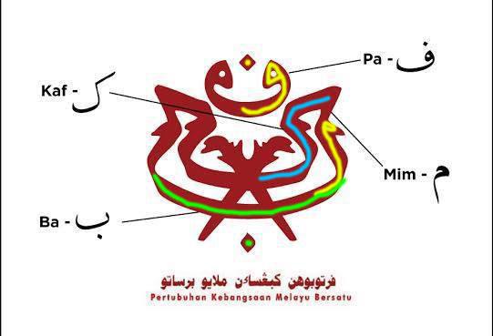 maksud logo umno pkmb persatuan kebangsaan melayu bersatu