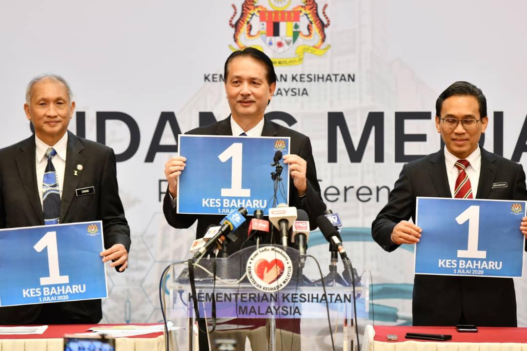 malaysia 1 kes baharu