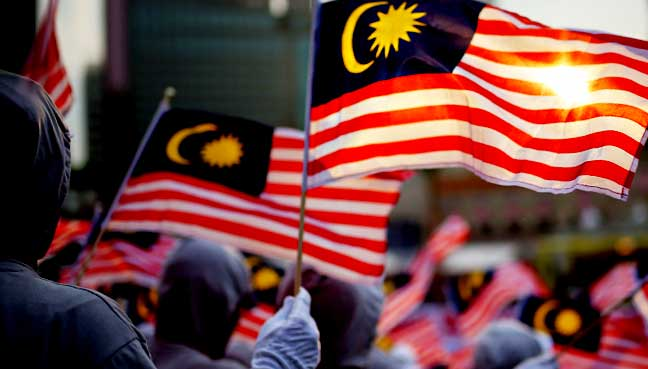 malaysia bendera