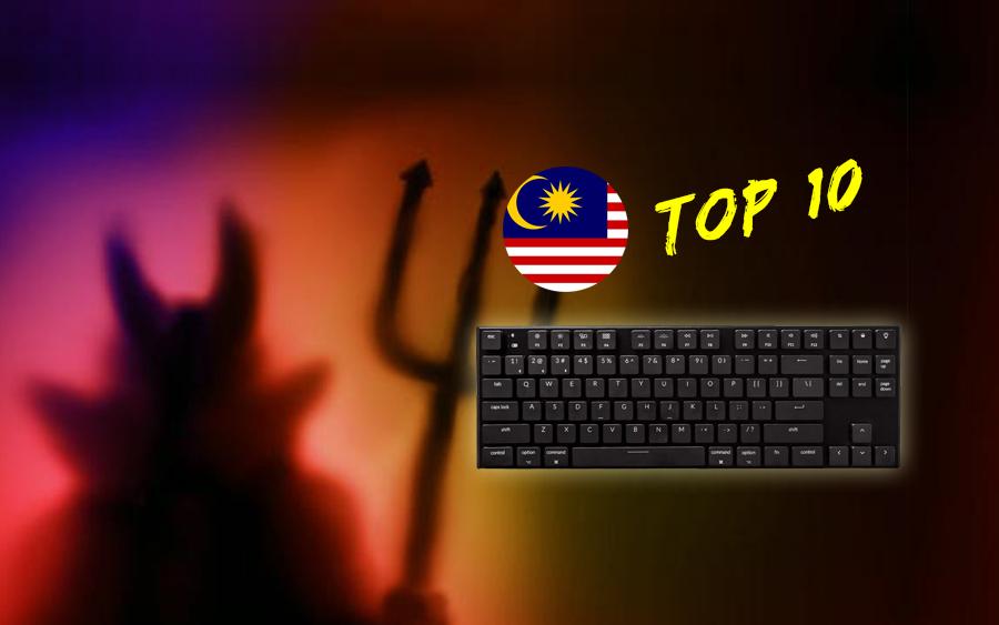malaysia mengungguli carta top 10 buli siber dunia