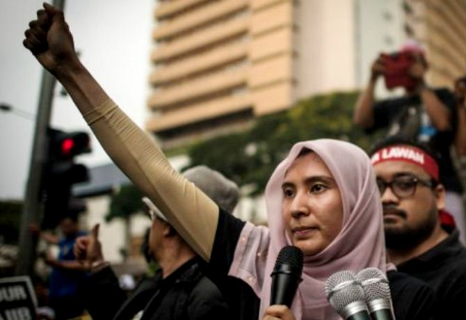malaysia nurul izzah putri anawar ibrahim foto