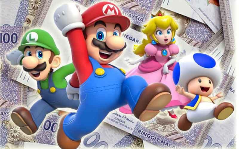 malaysia paling banyak belanja permainan video