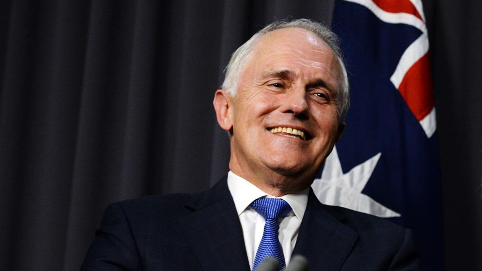 malcolm turnbull perdana menteri australia