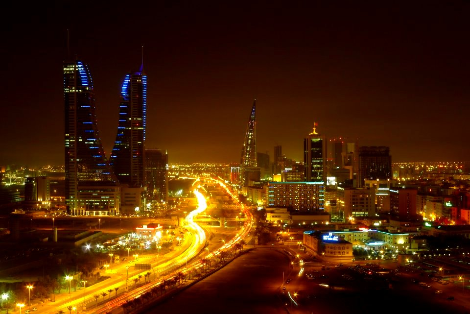 manama at night