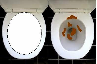 mangkuk tandas tutup penuh taik 146
