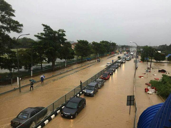 mangsa banjir di mersing