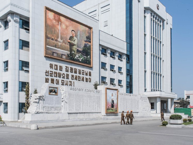 mansudae art studio pyongyang north korea