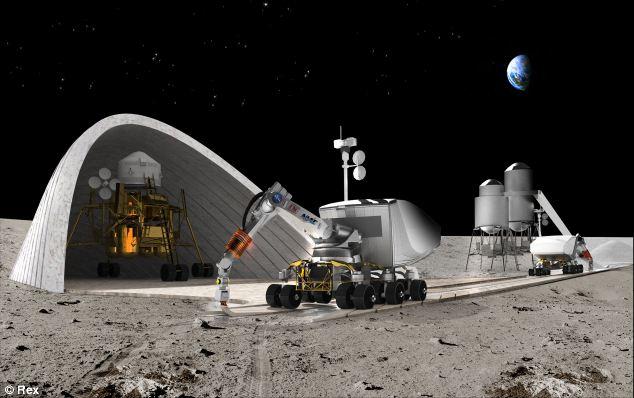 manusia boleh berhijrah tinggal di bulan