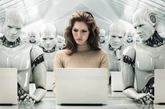 manusia diganti pekerja robot